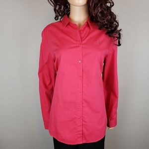 ✿❀ NWT Tommy Hilfiger Bright Pink Button Down  ❀✿